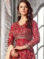Charming Red Embroidered Lehenga