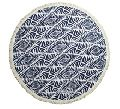 Perfect printed round beach towel