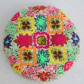 Cotton Embroidered Seat Cushion Pillow