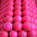 Test Pink cricket ball