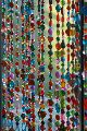 Multi Colored Beaded Curtains