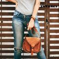 Leather Cross Body Bags Leather Sling bag for women Purse for Znt Bags