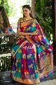 Multi Color Kanchipuram Silk Sarees
