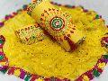 Yellow Fancy Dress Material