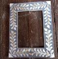 Photo frame m.o.p and wood