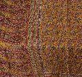 Beautiful pink & yellow colored printed pure silk saree