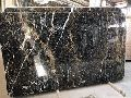 Black Spain Crema Marfil Marble Slab