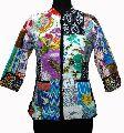 Cotton Patchwork Quilted Ladies Jacket