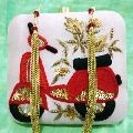 Ladies Embroidered Designer Clutch Bag