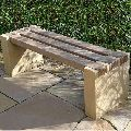 Brown Marble Bench