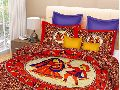 HKF Cotton Double Bedsheets