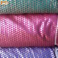Green Pink Purple Banarasi Brocade Silk Polyester Fabric