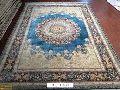 hand made silk carpets