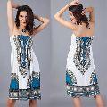 AFRICA DASHIKI TUBE BEACH DRESS