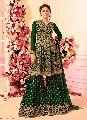 Women Salwar Kameez Designer Green color