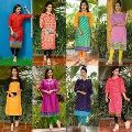 Cotton Designer Ladies Kurtis