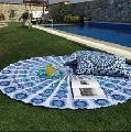 Round Beach Throw Mandala Hippie Tapestry Yoga mat