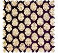 Printed floral chiffon fabric