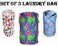 Round Shape Foldable Laundry Bag
