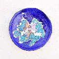 Blue Pottery Plate Wall Art