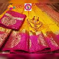 Kanjivaram Tussar Silk Sarees