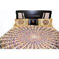 Jaipuri Sanganeri Print Cotton 3 Pcs Printed bedsheet