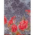 cotton voile printed floral print