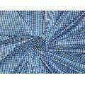 Pure Silk Dupioni Fabric Blue