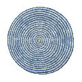 Table Mats Cotton Round Braided Jute Placemats