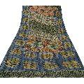Blend Georgette Printed Sari