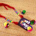 Lord Radha Kishan Painted Designer Necklace