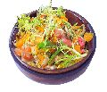 Wooden Salad Fruits Snacks Bowl