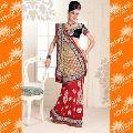ETHNIC CENTRAL indian wedding silk fabric saree
