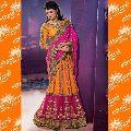 lehenga style bollywood saree