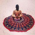 Wall Hanging Mandala Tapestry Yoga Mat