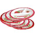 Melamine Oval dinner plates