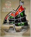 Nautical Colored Boat
