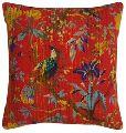 Alluring Handmade Indian kantha Designer Cotton Cushion Cover