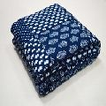 Indigo Print Design Kantha Baby Blankets