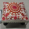 Home decor square low foot stool