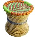 Colored Bamboo Mudda Stool