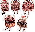 Hippie Beautiful Print Gypsy Cotton Boho Long Skirt
