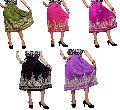 Indian Boho Hippie Rayon Embroidered Sequin Work Gypsy Short Skirt