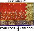 Kohinoor Peacock Nylon Silk Saree