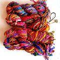 recycled sari silk chiffon yarn