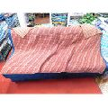 Reversible sofa bed cover