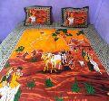 Sari Patchwork Ralli Gudari Cotton Handmade Sari Quilt