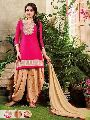 Embroidered Designer Cotton Dress Material