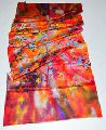 Silk multicolor premium shawls with digital prints