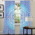 Mandala window curtain